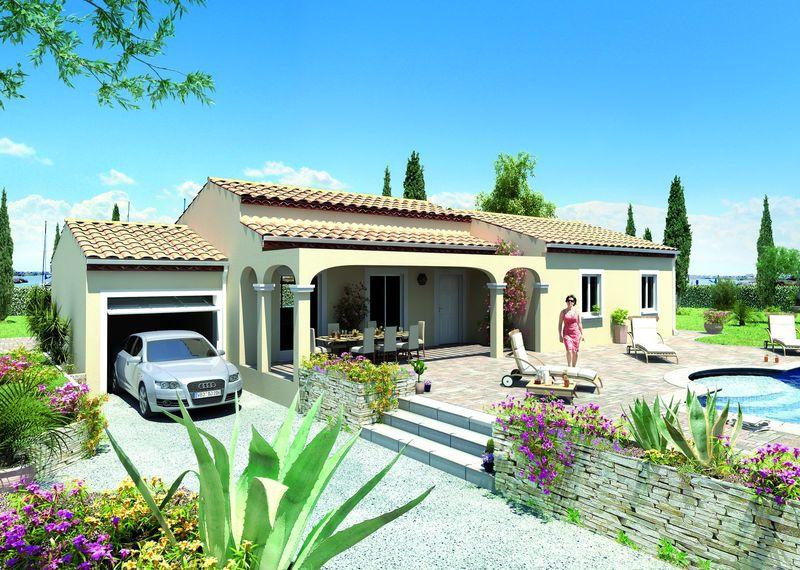 Constructeur De Villa Plain Pied Contemporaine Pas Cher Ganges 34190 Maisons Guitard Jfm Concept